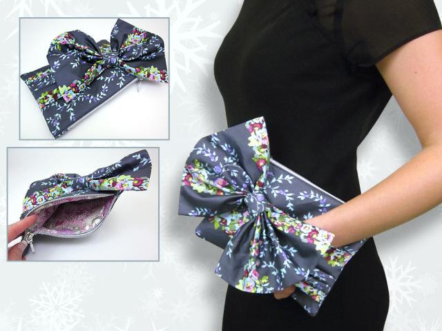 Маленькая сумка своими руками из ткани