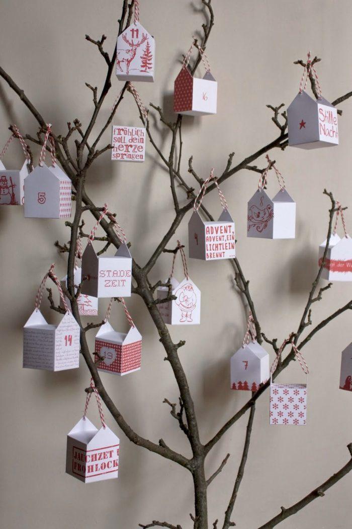 Целое адвент-календарное дерево
