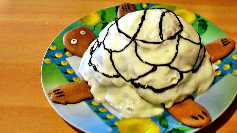 Диетический торт черепаха в домашних условиях