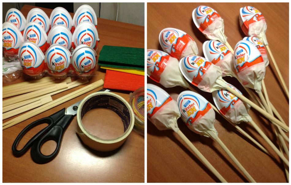 Наборы своими руками из конфет