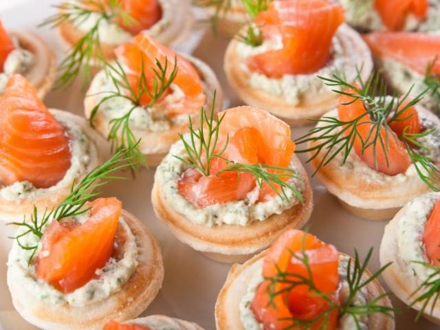 корзиночки с красной рыбой рецепты с фото