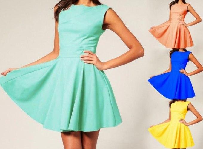 Из какой ткани сшить платья солнце