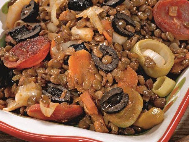блюда чечевицы Вкусные из