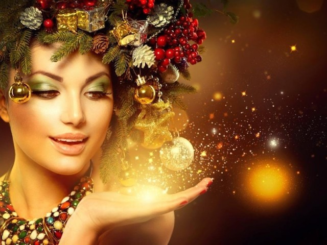Какую прическу сделать на Новый 2018 год? (100 Фото). Красивые, изысканные и элегантные прически для девушек, женщин и девочек к празднованию Нового года, к новогодней ночи: идеи, фото