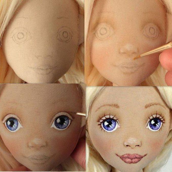 Как сшить лицо куклы - Fusion Drive - Wikipedia