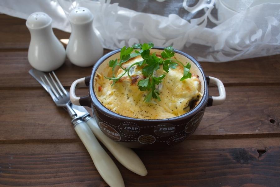 Картошка с рыбой в горшочке в духовке рецепт пошагово