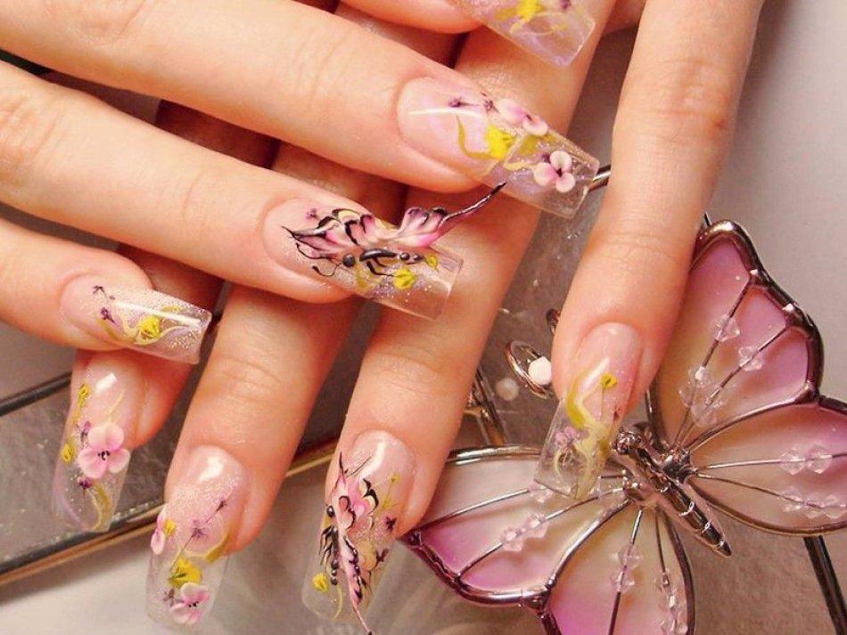 рисунки на ногтях фото шеллаком