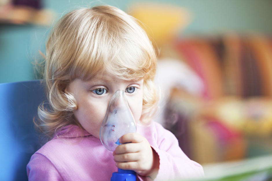 Маленьким детям нравится лечиться при помощи небулайзера