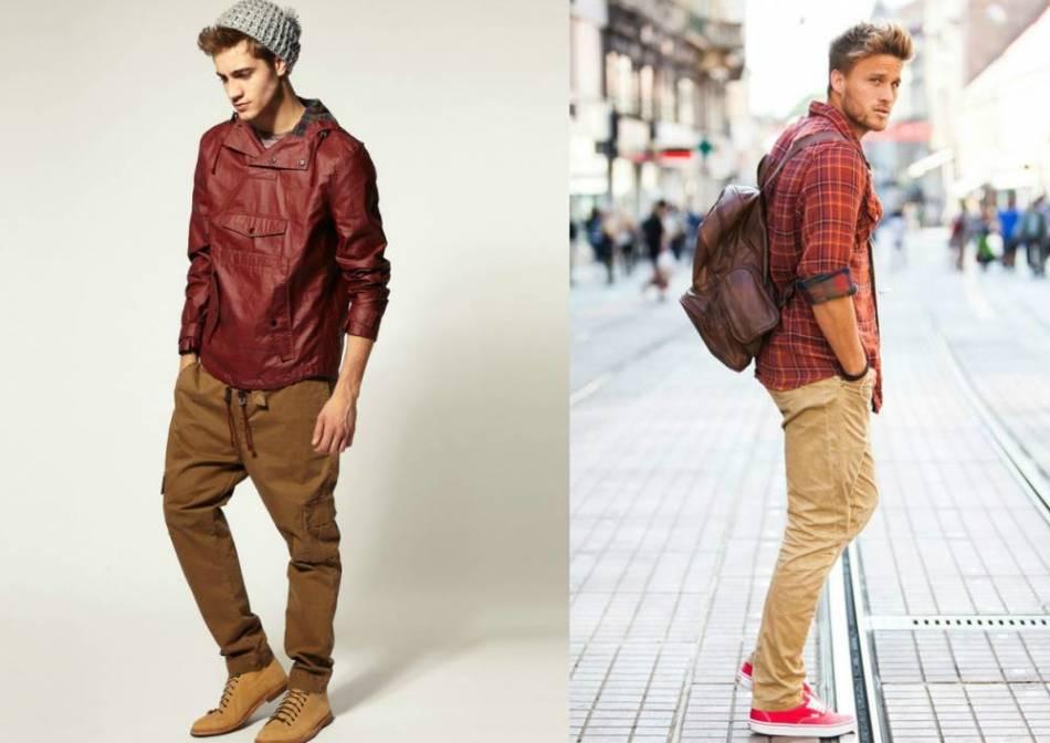 Что носят с брюками мужчины