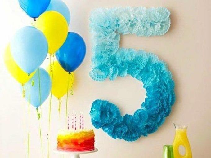 Цифра 3 для мальчика своими руками