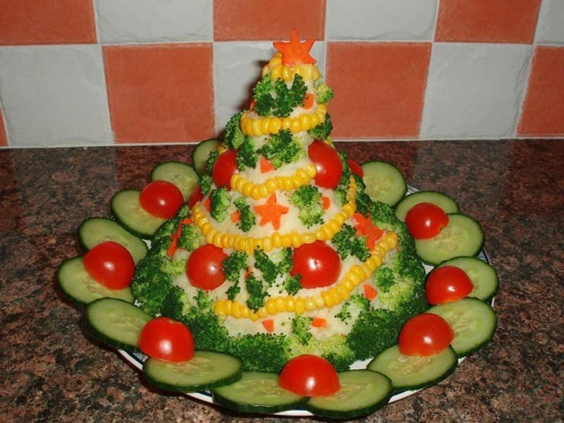 Салаты новогодние и рецепты