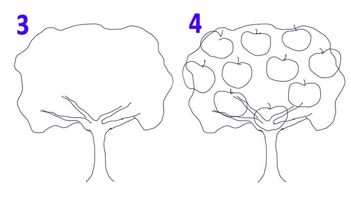 Как нарисовать древо семьи своими руками карандашом поэтапно для начинающих