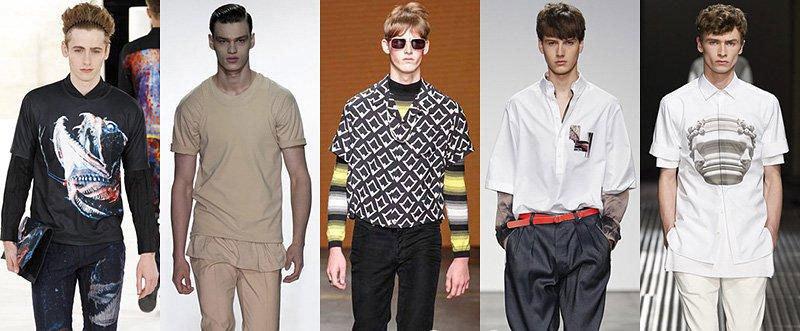 Стильная уличная мода на лето 2018-2019 года для парней и мужчин в футболках