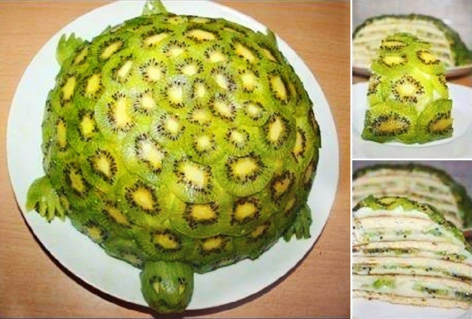 торт изумрудная черепаха на сковороде 15 мин рецепт