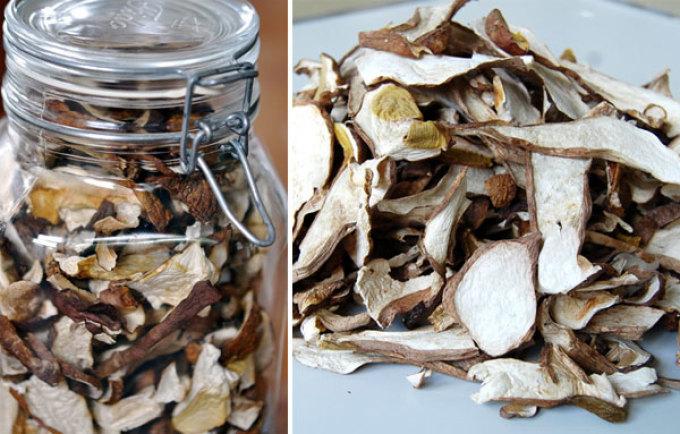 Сколько хранить сушеные грибы в домашних условиях 28