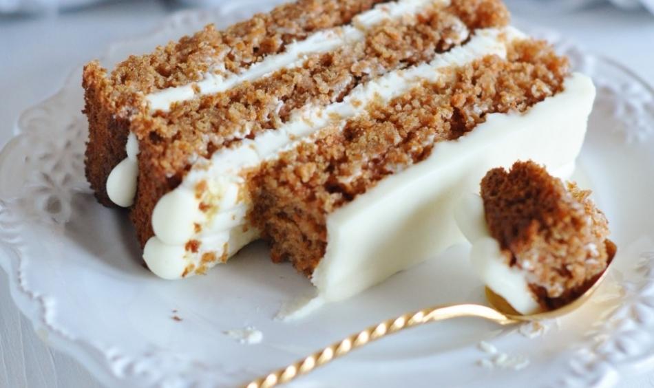 Вкусный торт из моркови