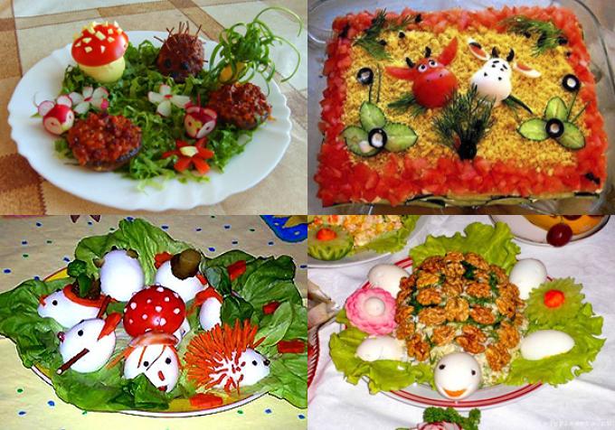 Детские праздничные рецепты фото