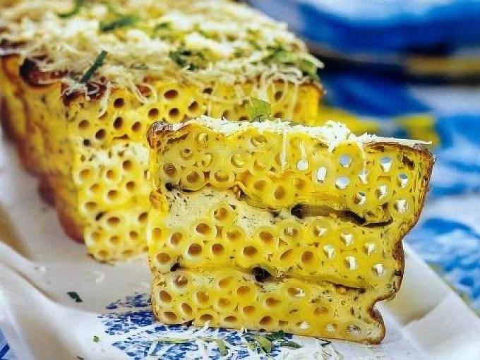 запеканка из вареных макарон в духовке