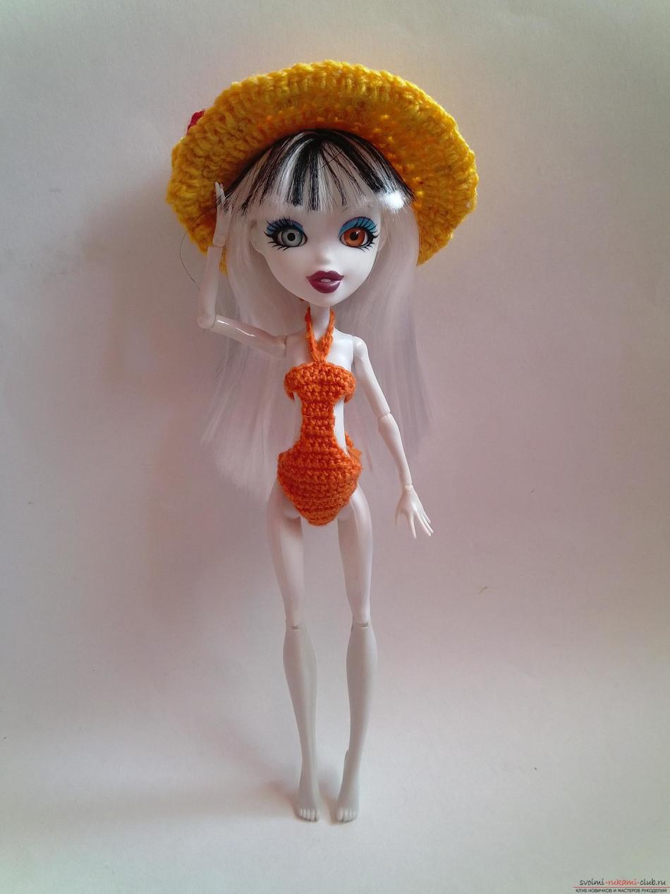 Куклы монстер хай в купальниках своими руками