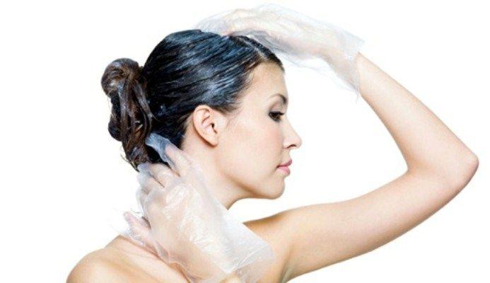 Чем смыть краску для волос с рук