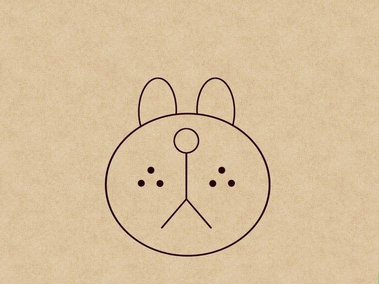 Как нарисовать щенка: шаг 4