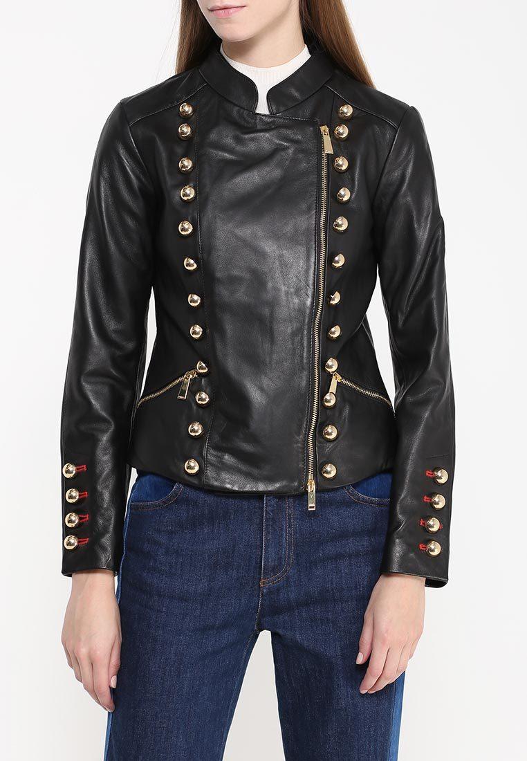 Купить Куртку Pinko Кожаную