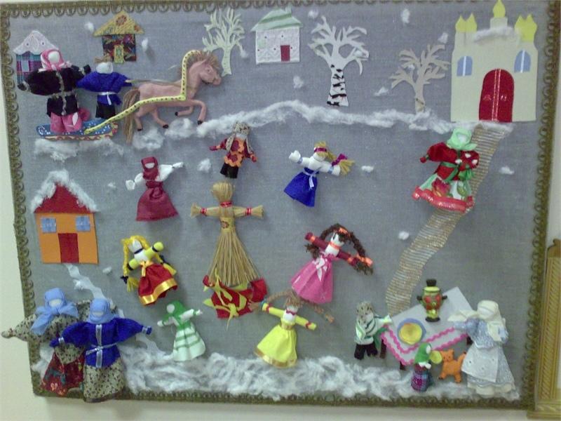 Кукла масленица в детском саду своими руками