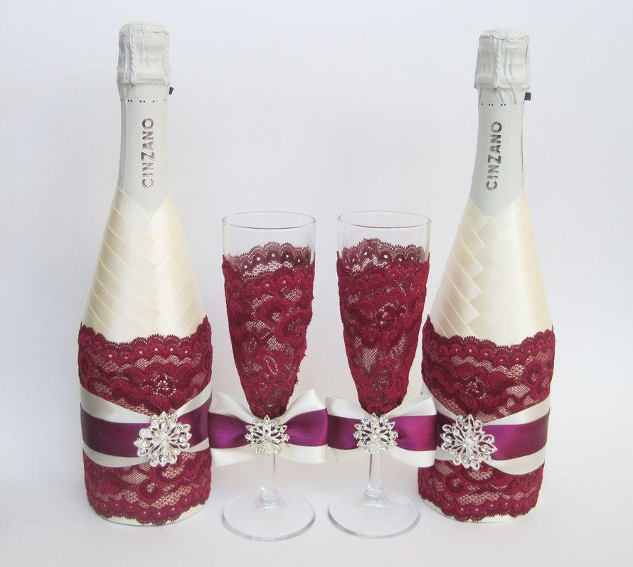 Как украсить своими руками детское шампанское