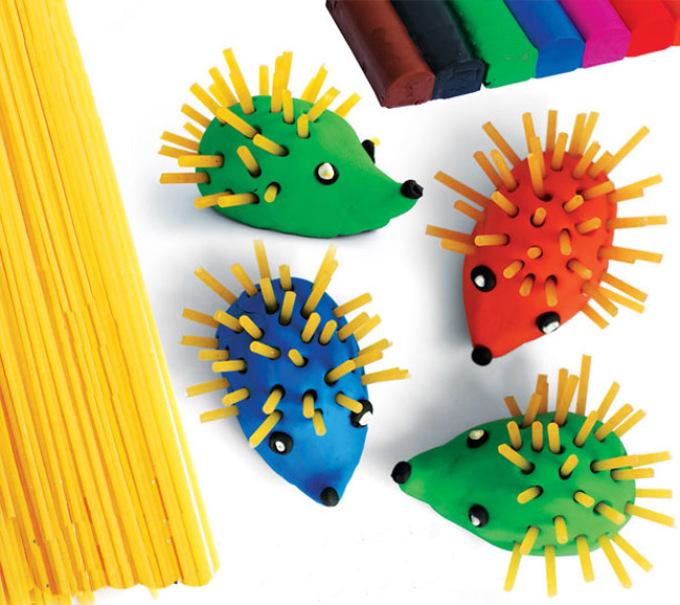 Поделки из пластилина для детей 2 лет