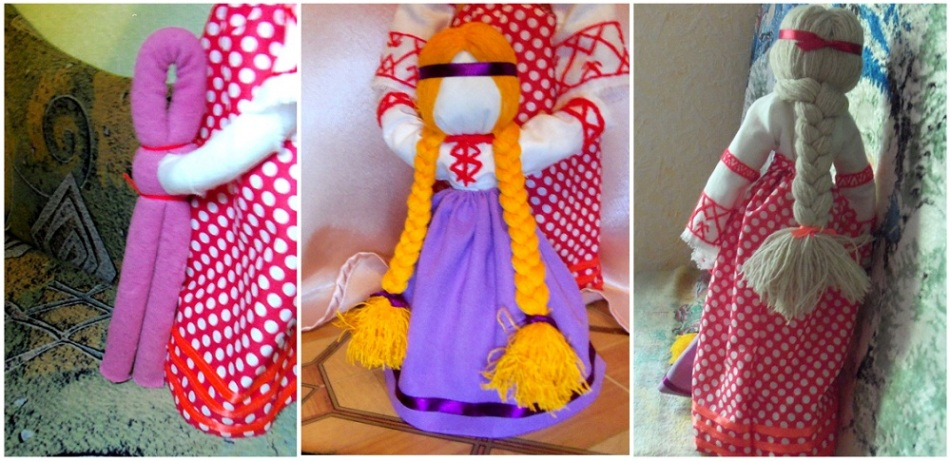Поделки из ткани для кукол