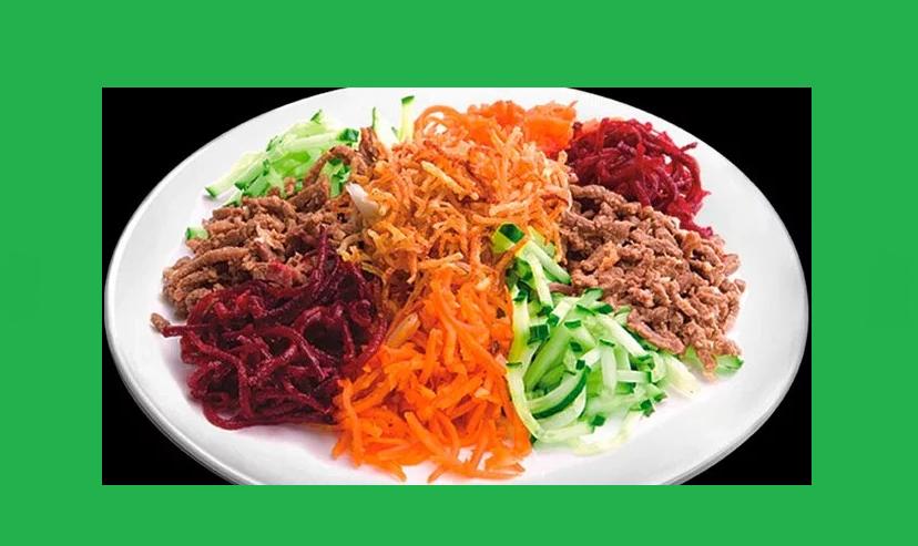 как приготовить салат чафан