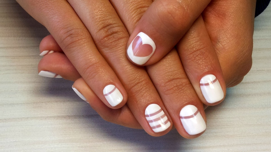 Маникюр на свадьбу фото на свои ногти гелем