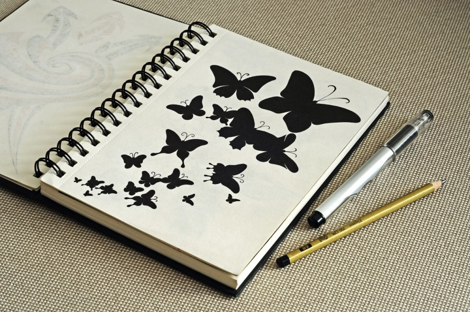 скетчбук рисунки для начинающих картинки