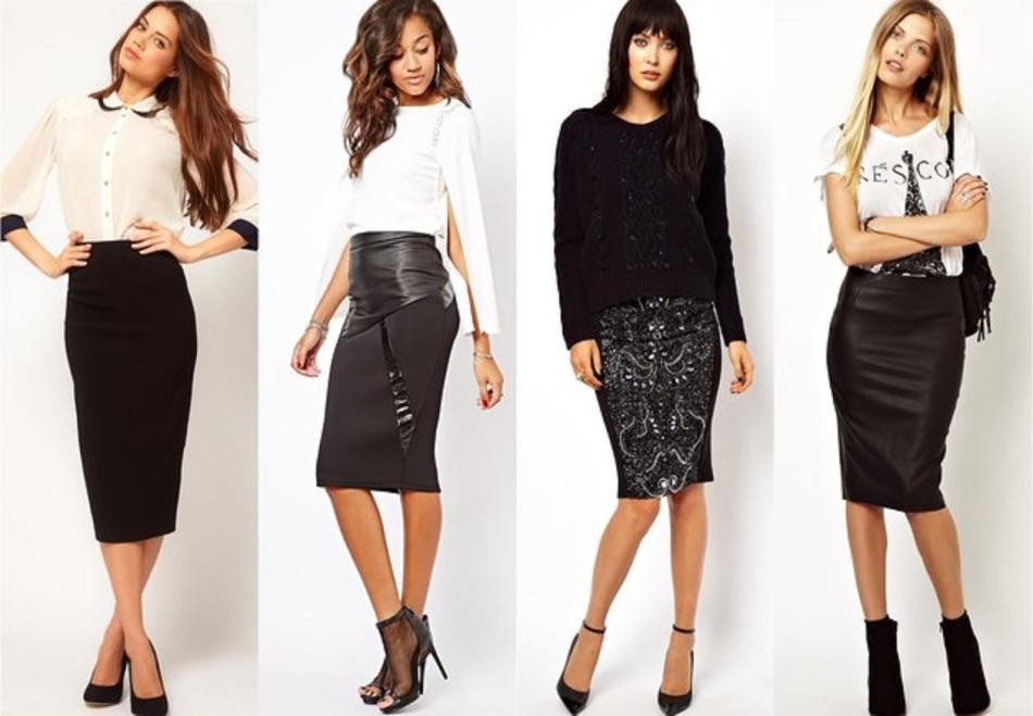 Как пошить юбку карандаш из классических брюк?