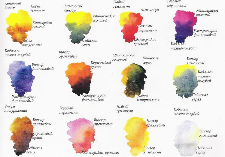 Цветы рисовать акварелью поэтапно