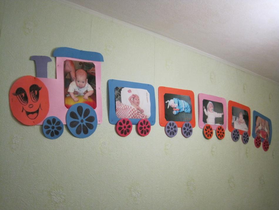 Фоторамки своими руками в детскую комнату 84