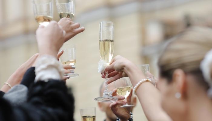 Поздравление со свадьбой от коллег