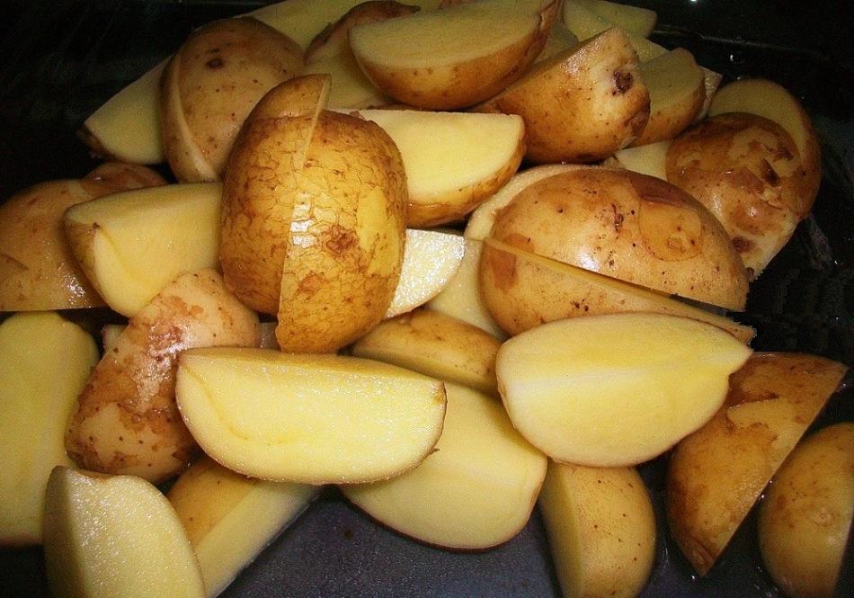 Картошка по деревенски в духовке рецепт с как в макдональдсе пошагово