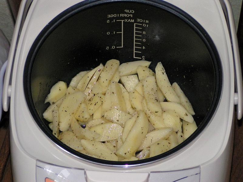 Картошка фри в мультиварке рецепты