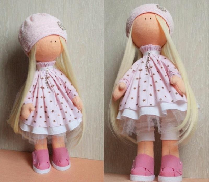 ткань для кукол большеножек своими руками