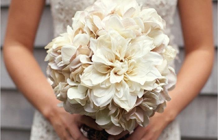 Букет невесты своими руками фото
