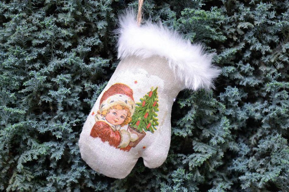 Новогодняя игрушка своими руками 30 см на ёлку