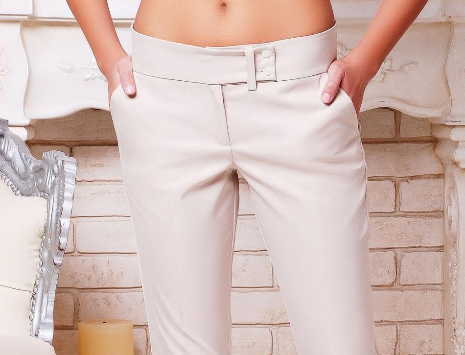 Сшить брюки на поясе 101
