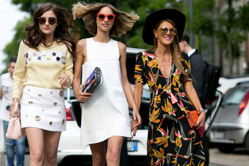 Уличная мода лето юбки