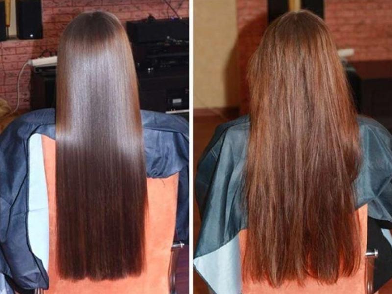 Кондиционер с желатином для волос