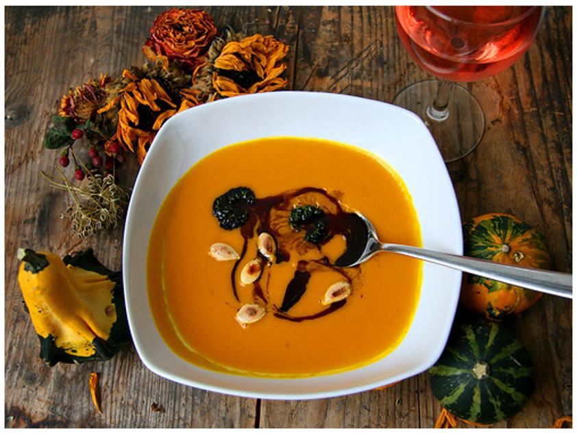 Детский рецепт супа с тыквой