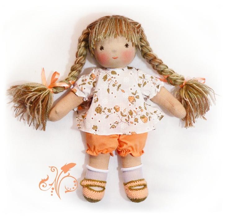 Куклы из ткани пошаговый мастер класс