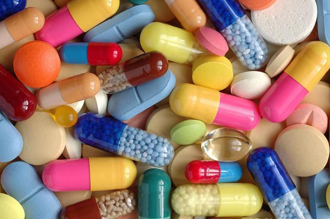 Разноцветные-таблетки