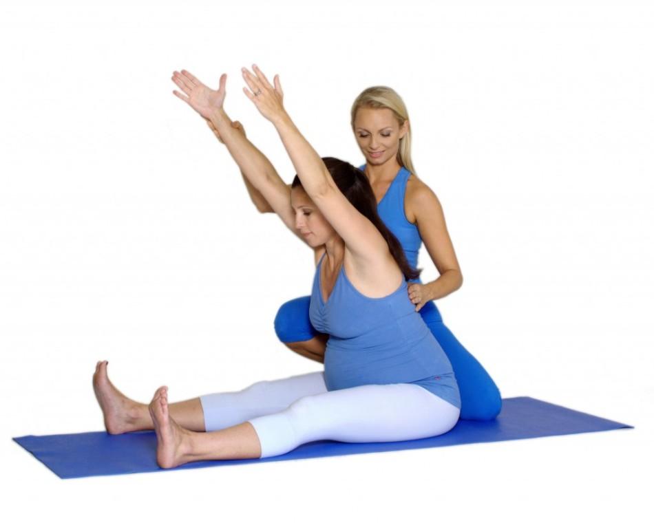 Йога для беременных дома: асаны - Woman s Day 15