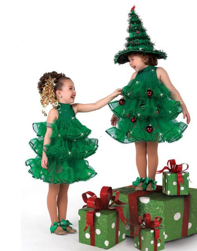 Костюм новогодней елки своими руками